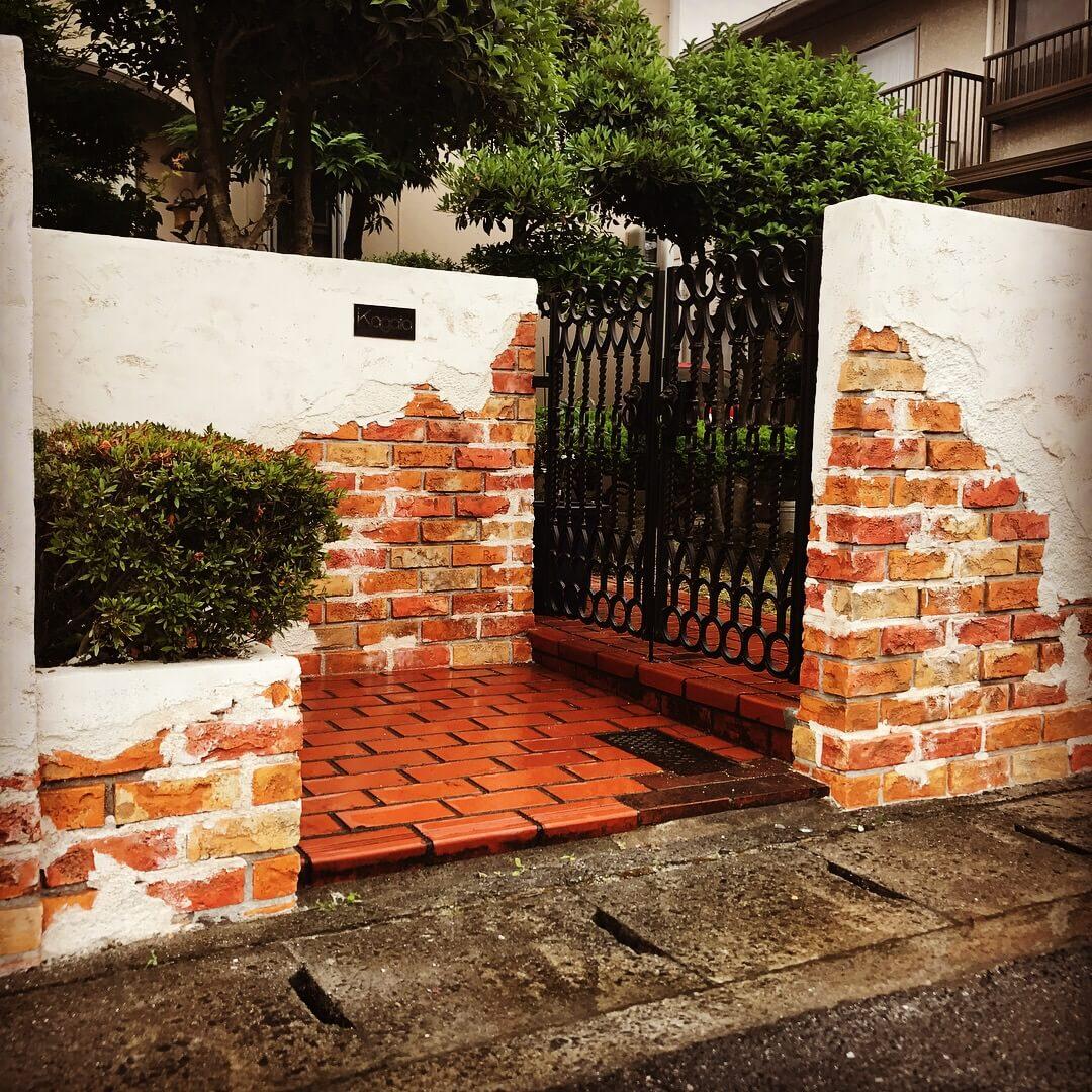 門柱リノベ